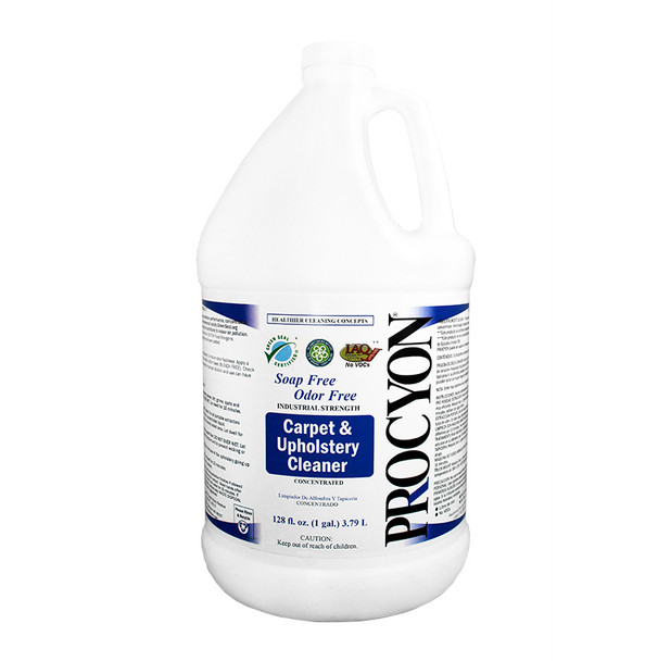 CARPET & UPHOLSTERY CLEANER - LIQUID - GAL, PROCYON