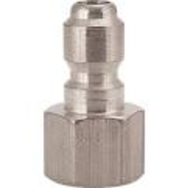 """QUICK CONNECT - 1/8"""" FPT - MALE - STAINLESS"""