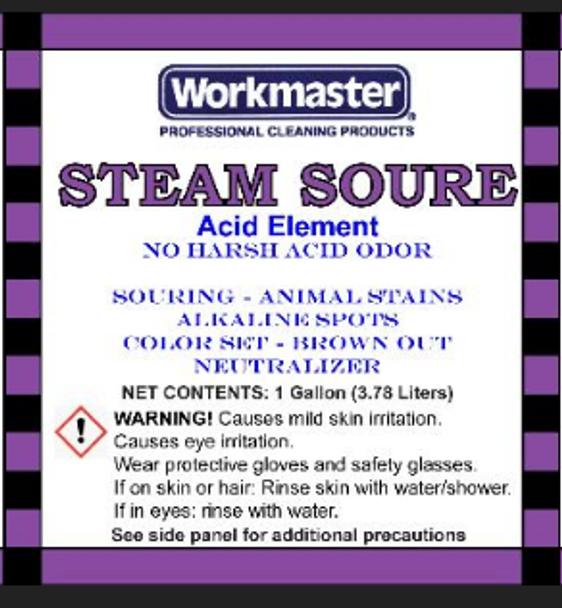 STEAM SOURE - ACID SOLUTION - GAL, WORKMASTER
