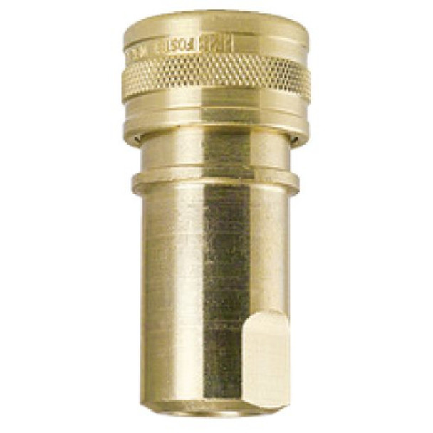 """QUICK CONNECT - FEMALE - 1/4"""" - BRASS ***"""