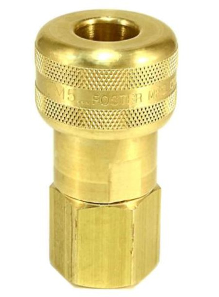 "QUICK CONNECT - 1/2"" - FEMALE - BRASS - FOR CLEANCO-PUMP INLET"