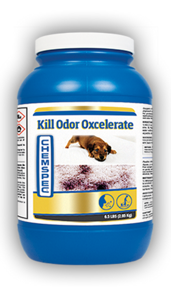 KILL ODOR OXCELRRATE - 6.5 LB, CHEMSPEC