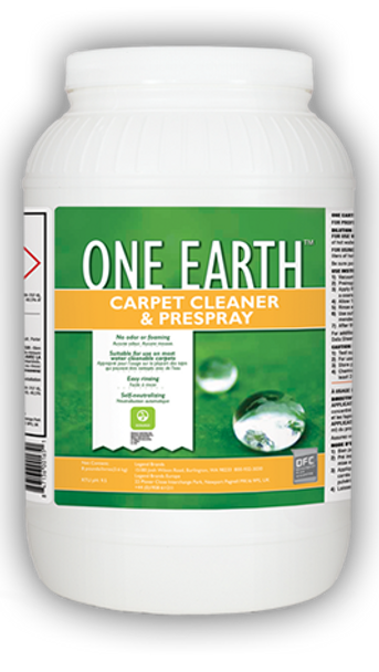 CARPET CLEANER & PRESPRAY - ONE EARTH - 8 LB, CHEMSPEC