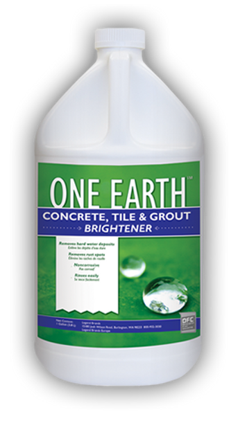 CONCRETE TILE & GROUT BRIGHTENER - ONE EARTH - GAL, CHEMSPEC