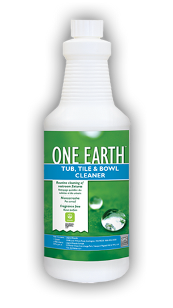 TUB TILE & BOWL CLEANER - ONE EARTH - QT, CHEMSPEC