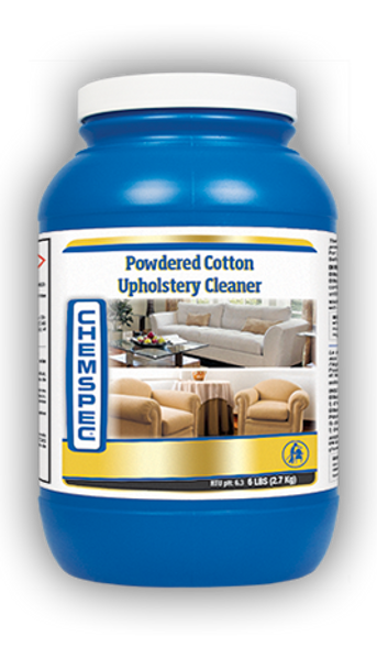 POWDERED COTTON UPHOLSTERY CLEANER - 6 LB, CHEMSPEC