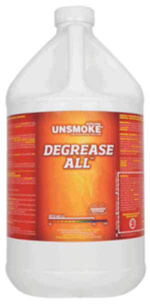 DEGREASE ALL - UNSMOKE - GAL, PRO RESTORE