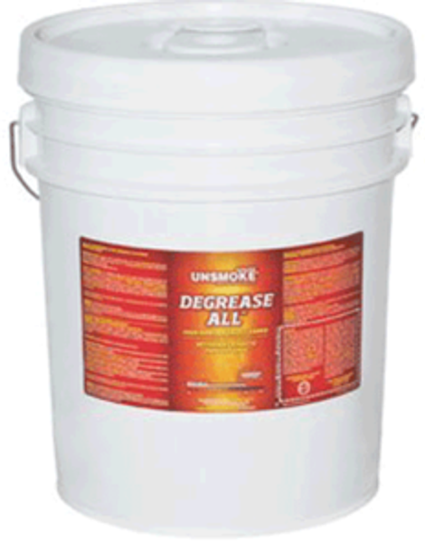 DEGREASE ALL - UNSMOKE - PAIL - 5 GAL, PRO RESTORE