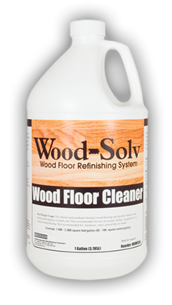 WOOD FLOOR CLEANER - WOOD SOLV - GAL, CHEMSPEC<<<DISCONTINUED