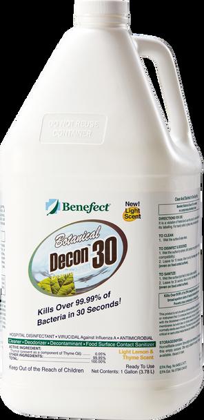 DECON 30 - GAL, BENEFECT