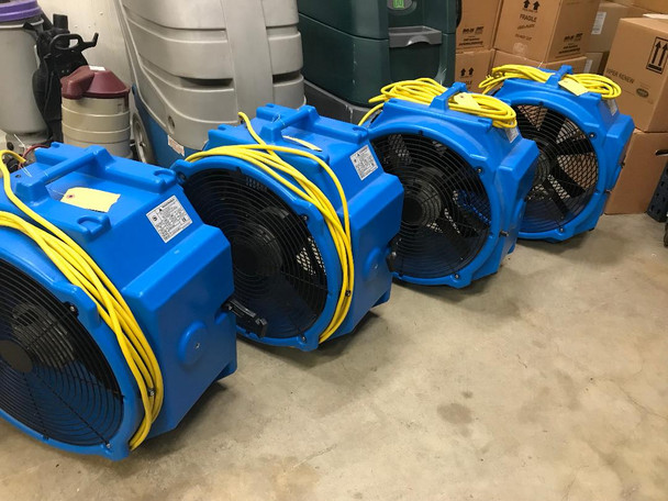 USED AXIAL DRYING FANS (CALL FOR QUANTITY)