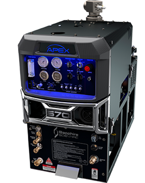 APEX 570 - W/ 90 GAL WASTE TANK, PROCHEM