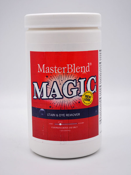 MAGIC STAIN & DYE REMOVER - 2LB, MASTERBLEND