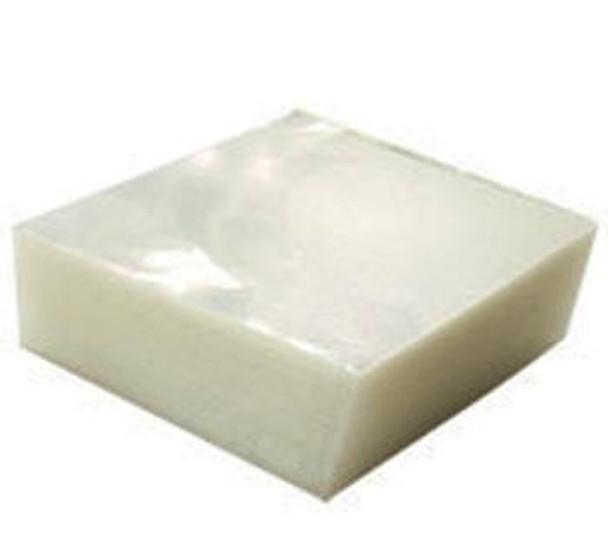 4X4 CLEAR PLASTIC SQUARES, CASE 10K