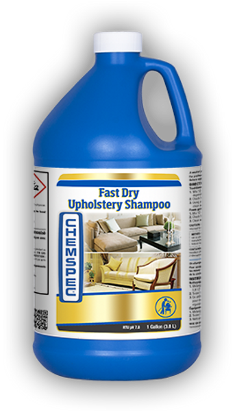 FAST DRY UPHOLSTERY SHAMPOO - GAL, CHEMSPEC