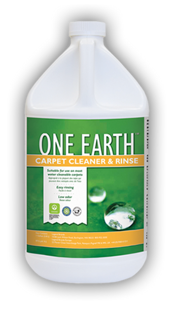 CARPET CLEANER & RINSE - ONE EARTH - GAL, CHEMSPEC