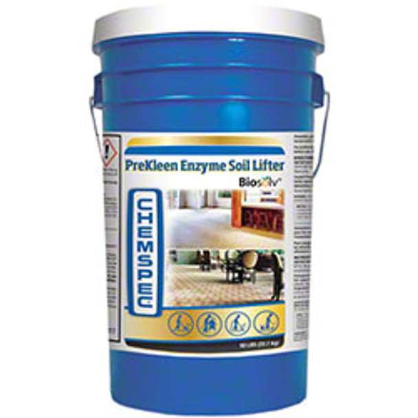 PREKLEEN ENZYME SOIL LIFTER WITH BIOLSOLV - PAIL - 40 LB, CHEMSPEC
