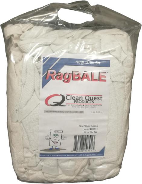 TOWELS - MINI RAG - 5 LB - BALE