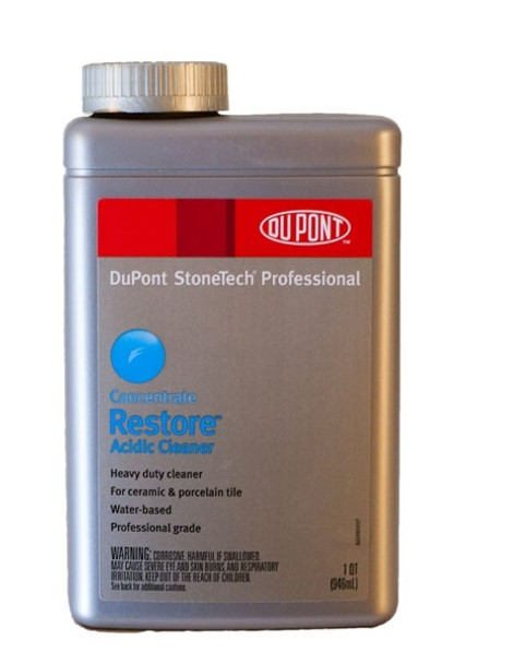 RESTORE - ACIDIC CLEANER - QUART, STONETECH