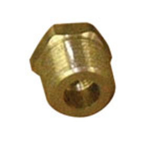 "PIPE BUSHING - 3/8"" FPT X 1/4"" MPT - BRASS"