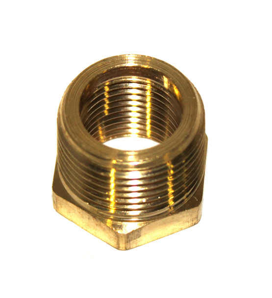 "PIPE BUSHING - 3/4"" FPT X 1/2"" MPT - BRASS"