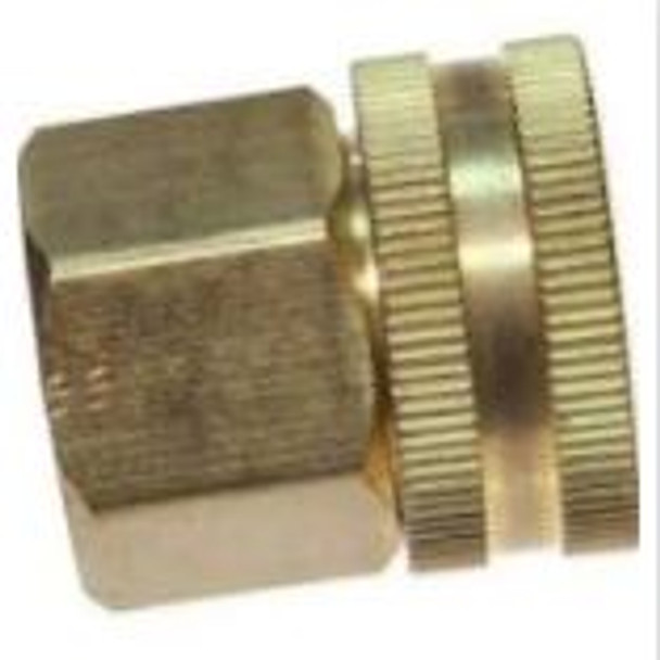 "SOLID FITTING - GARDEN HOSE - 3/4"" FGH X 1/2"" FPT"
