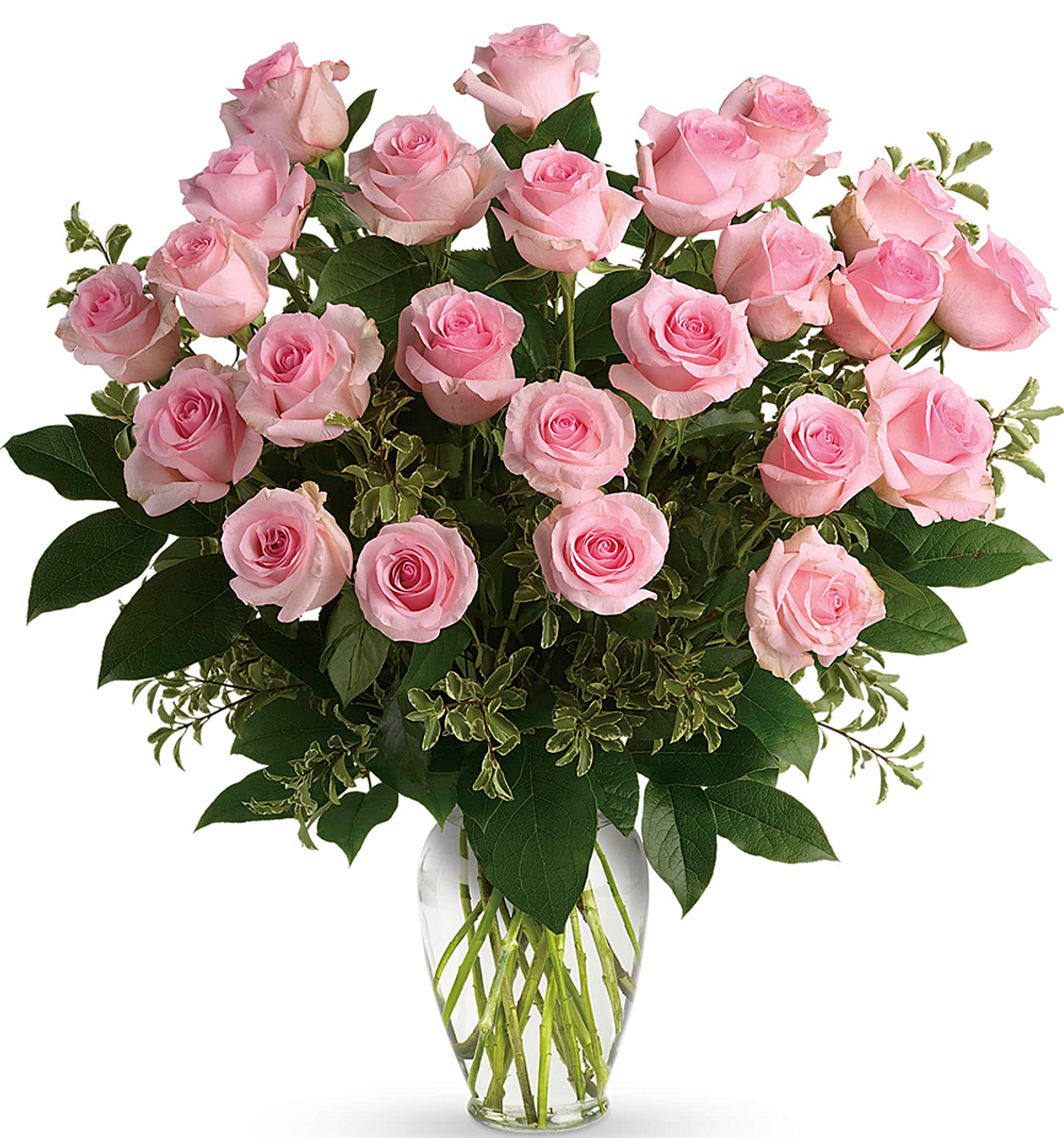 Say Something Sweet Bouquet Premium Spring Bouquet 24 Pink Roses Salvy The Florist