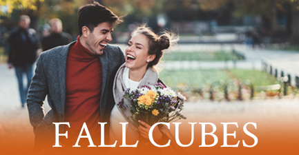 Fall Cube Bouquets by Salvy the Florist