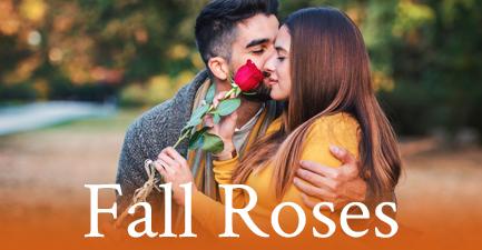 Fall Rose Arrangements by Salvy the Florist