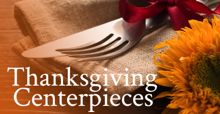 Thanksgiving Centerpieces by Salvy the Florist