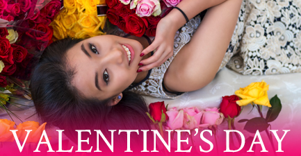 Valentine's Day Flowers by Salvy the Florist
