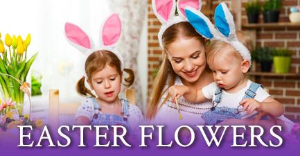 Easter Flower Arrangements by Salvy the Florist