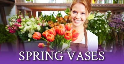Spring Vase Arrangements by Salvy the Florist