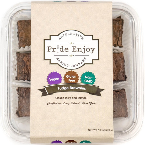 Vegan and Gluten Free Brownies - 6 Piece