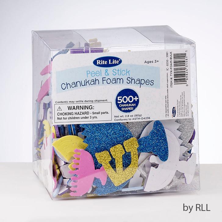 500+ Chanukah Foam Shapes, Including Glitter Shapes!