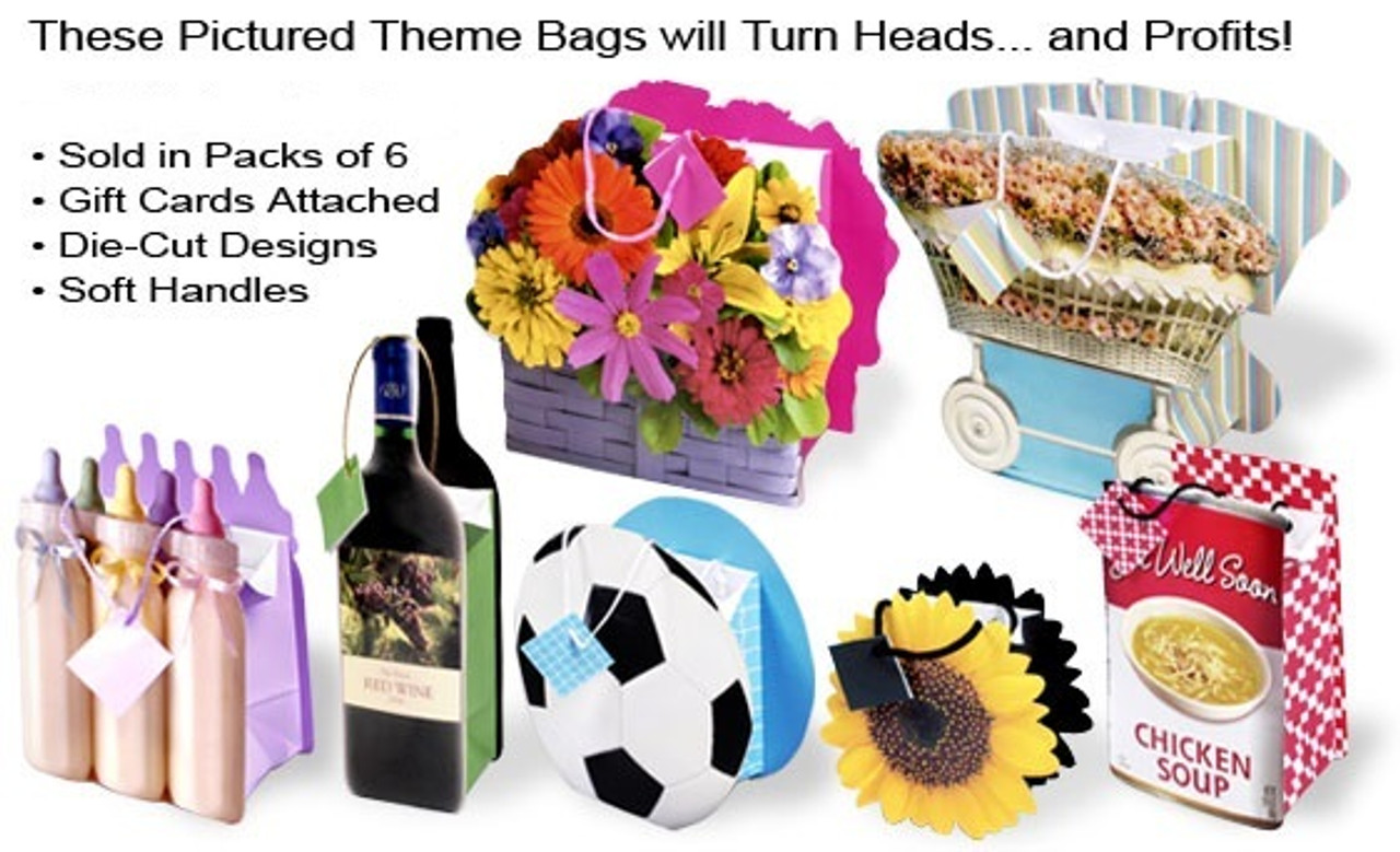 Die Cut Gift Bags