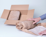 Try a Paper Based Bubble Cushioning Wrap Alternative - Smaller Shipping & Storage Space