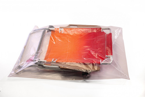 """24""""X30"""" Clear Layflat Poly Bags 1.25 mil"""