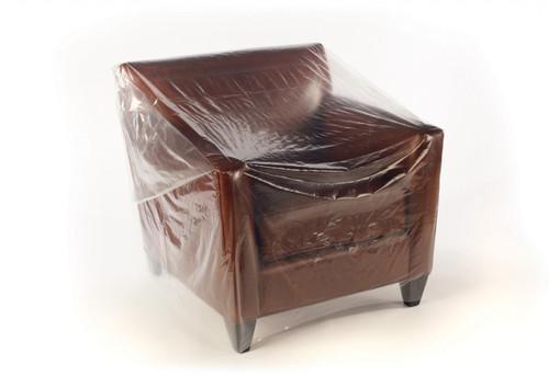 """92""""X45"""" Clear Furniture Bags 60"""" Chair 160/RL"""