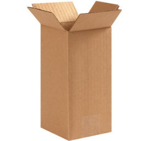 "3"" x 3"" x 3"" (ECT-32)Tall Kraft Corrugated Cardboard Shipping Boxes"