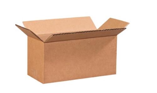 "9"" x 4"" x 4"" (ECT-32) Long Kraft Corrugated Cardboard Shipping Boxes"