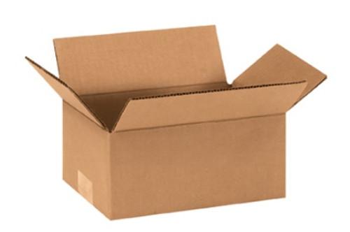 "9"" x 5"" x 4"" (ECT-32) Kraft Corrugated Cardboard Shipping Boxes"