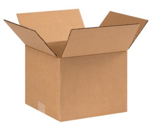 "9"" x 9"" x 7"" (ECT-32) Kraft Corrugated Cardboard Shipping Boxes"
