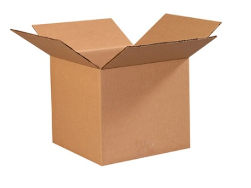 "9"" x 9"" x 8"" (ECT-32) Kraft Corrugated Cardboard Shipping Boxes"