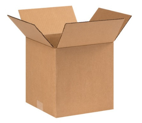 "9"" x 9"" x 9"" (ECT-32) Kraft Corrugated Cardboard Shipping Boxes"