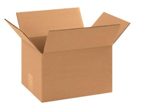 "11 1/4"" x 8 3/4"" x 8"" (ECT-32) Kraft Corrugated Cardboard Shipping Boxes"
