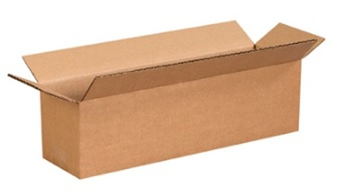 "14"" x 4"" x 4"" (ECT-32) Long Kraft Corrugated Cardboard Shipping Boxes"