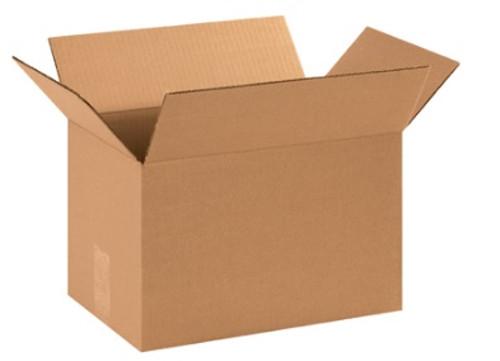 "14"" x 9"" x 9"" (ECT-32) Kraft Corrugated Cardboard Shipping Boxes"