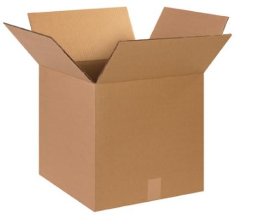 "15"" x 15"" x 15"" (DW/ECT-48) Heavy-Duty Double Wall Kraft Corrugated Cardboard Shipping Boxes"