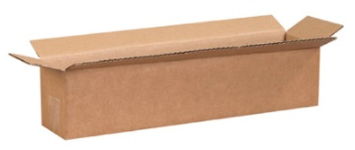 "18"" x 4"" x 4"" (200#/ECT-32) Long Kraft Corrugated Cardboard Shipping Boxes"